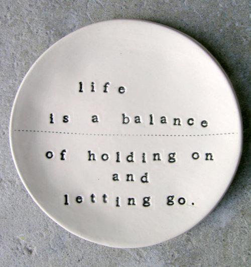 Rumi quote - letting go
